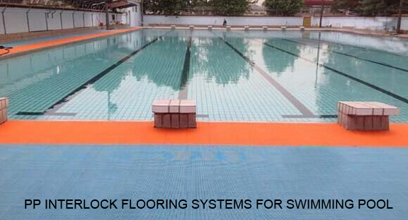PP Interlock Flooring For Swimming Pools
