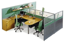 Engineered Modular Workstations (Office Furniture)