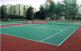 Indoor/Outdoor PP Interlock Modular Sports Flooring